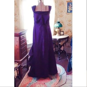 Alfred Angelo Ball Gown Eggplant Purple 16W
